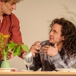 2_PETER STEINER_Theater Proben_Butterbrot_acting and arts Saarbrücken_04.07.2013